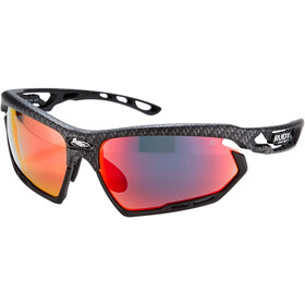 Rudy Project Fotonyk Gafas, carbonium/black/multilaser red